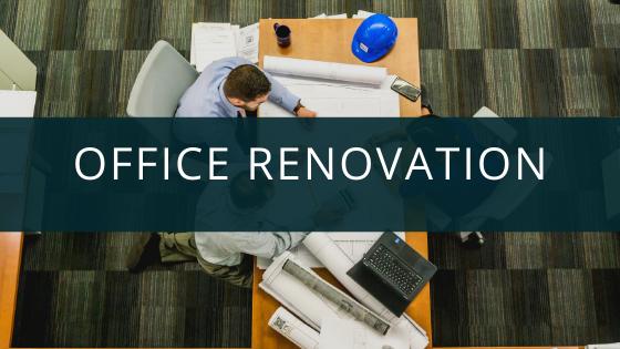 professional office renovation