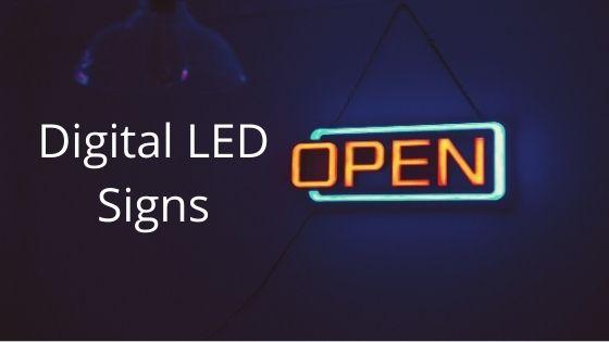 Digital LED Signs